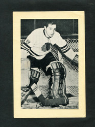 1948/64 GLENN HALL BEE HIVE GROUP 2 CORN SYRUP PHOTO BLACK HAWKS EX