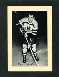 1948/64 RUDY HORVATH BEE HIVE GROUP 2 CORN SYRUP PHOTO BRUINS VG/EX