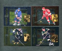 1999 UD HANDS OF GOLD NHL HOCKEY COMPLETE SET 11/11