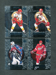 1999 UPPER DECK OVATION NHL HOCKEY COMPLETE SET WITH SP'S 90/90