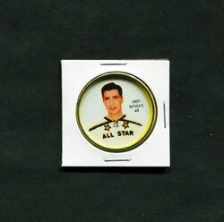 1962-63 ANDY BATHGATE #48 SHIRRIFF COINS ALL STAR *5472