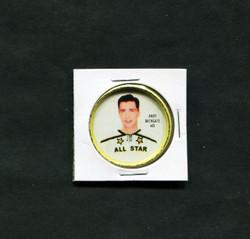 1962-63 ANDY BATHGATE #48 SHIRRIFF COINS ALL STAR *7300
