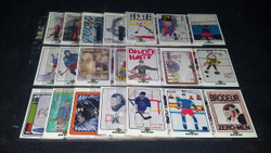 1999 U.D. MVP DRAW YOUR OWN TRADING CARD NHL HOCKEY COMPLETE SET 45/45