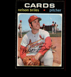 1971 NELSON BRILES OPC #257 O PEE CHEE CARDINALS EXMT *5611
