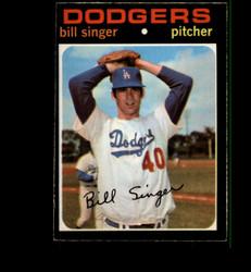 1971 BILL SINGER OPC #145 O PEE CHEE DODGERS EXMT *3170