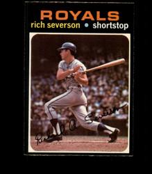 1971 RICH SEVERSON OPC #103 O PEE CHEE ROYALS EXMT *5342