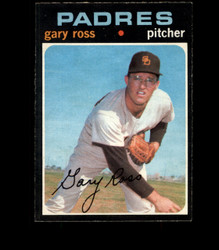 1971 GARY ROSS OPC #153 O PEE CHEE PADRES EXMT *1001