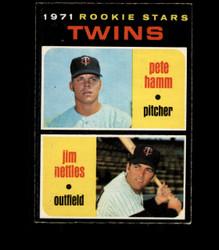 1971 ROOKIE STARS OPC #74 O PEE CHEE TWINS EXMT *4942