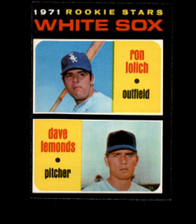 1971 ROOKIE STARS OPC #458 O PEE CHEE WHITE SOX EXMT *1589