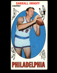 1969 DARRALL IMHOFF TOPPS #4 76ERS VG *B001