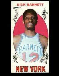 1969 DICK BARNETT TOPPS #18 KNICKS NM *B026