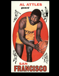 1969 AL ATTLES TOPPS #24 SAN FRANCISCO NM *B036