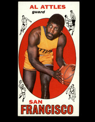 1969 AL ATTLES TOPPS #24 SAN FRANCISCO EXMT *B037