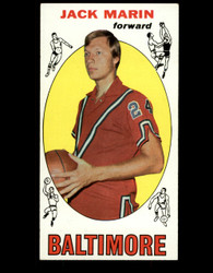 1969 JACK MARIN TOPPS #26 BALTIMORE EX/EXMT *B044