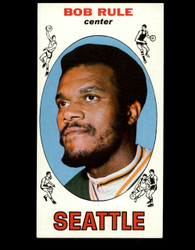 1969 BOB RULE TOPPS #30 SUPERSONICS EXMT *B053