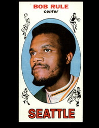 1969 BOB RULE TOPPS #30 SUPERSONICS EXMT *B054