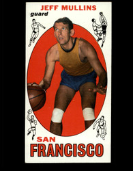 1969 JEFF MULLINS TOPPS #70 SAN FRANCISCO EX *B078