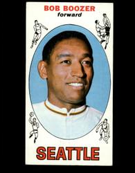 1969 BOB BOOZER TOPPS #89 SEATTLE VG/EX *B096
