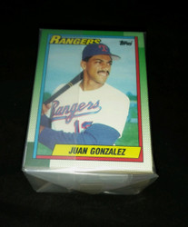 1990 JUAN GONZALEZ TOPPS #331 ROOKIE LOT OF 100