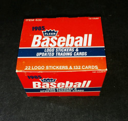 1985 FLEER BASEBALL UPDATE FACTORY BOXED SET
