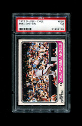 1974 MIKE EPSTEIN OPC #650 O PEE CHEE ANGELS PSA 7