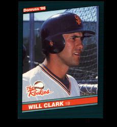 1986 WILL CLARK DONRUSS #32 THE ROOKIES GIANTS *4774