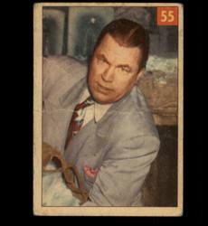 1954 BOB STRANGLER WAGNER PARKHURST WRESTLING #55 GOOD *1715