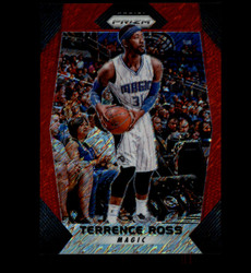 2017 TERRANCE ROSS PANINI PRIZM #133 RED SHIMMER #/8 MAGIC *8789