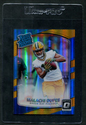 2017 MALACHI DUPRE DONRUSS OPTIC #197 RATED ROOKIE GOLD #/10 *8879