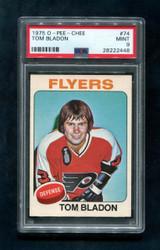 1975 TOM BLADON OPC #74 O PEE CHEE FLYERS PSA 9