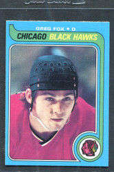 1979 GREG FOX OPC #116 O PEE CHEE BLACK HAWKS NM #3063