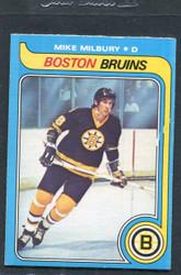 1979 MIKE MILBURY OPC #114 O PEE CHEE BRUINS NM #3098