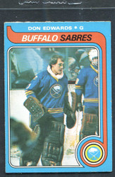 1979 DON EDWARDS OPC #105 O PEE CHEE SABRES NM #3094