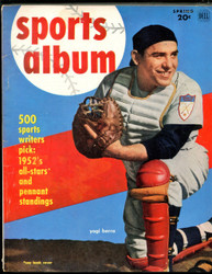 1952 DELL SPORTS ALBUM MAGAZINE YOGI BERRA