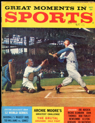 1959 GREAT MOMENTS IN SPORTS TED WILLIAMS MAGAZINE