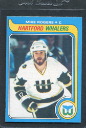 1979 MIKE ROGERS OPC #43 O PEE CHEE WHALERS NM #3114