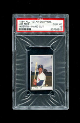 1984 JIM RICE ALL STAR GAME PROGRAM INSERTS RED SOX PSA 10
