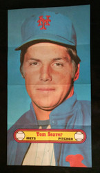 1972 TOM SEAVER TOPPS POSTERS NEW YORK METS EXMT *002