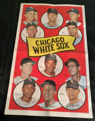 1969 CHICAGO WHITE SOX TOPPS #11 TEAM POSTERWOOD JOHN LUIS APARICIO *010