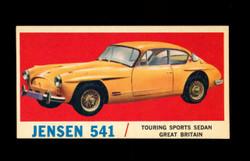 1961 TOPPS SPORTS CARS #64 JENSEN 541 EXMT/NM