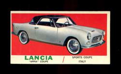 1961 TOPPS SPORTS CARS #59 LANCIA VG/EX