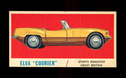 1961 TOPPS SPORTS CARS #53 ELVA COURIER EXMT