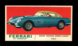 1961 TOPPS SPORTS CARS #48 FERRARI 4.9 SUPERFAST MINT/ST