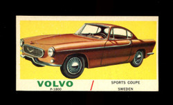 1961 TOPPS SPORTS CARS #45 VOLVO P-1800 EXMT