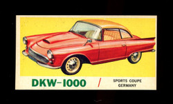 1961 TOPPS SPORTS CARS #40 DKW-1000 NM/MT-ST