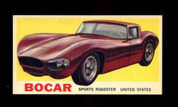 1961 TOPPS SPORTS CARS #30 BOCAR NM/MT-ST