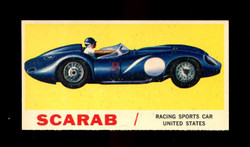 1961 TOPPS SPORTS CARS #29 SCARAB NM/MT