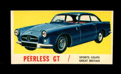 1961 TOPPS SPORTS CARS #21 PEERLESS GT NM