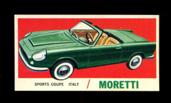1961 TOPPS SPORTS CARS #15 MORETTI EXMT