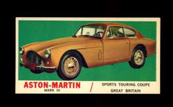 1961 TOPPS SPORTS CARS #14 ASTON MARTIN MARK III NM